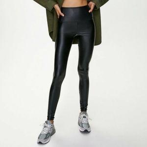 Aritzia Wilfred Free Daria Vegan Leather Leggings